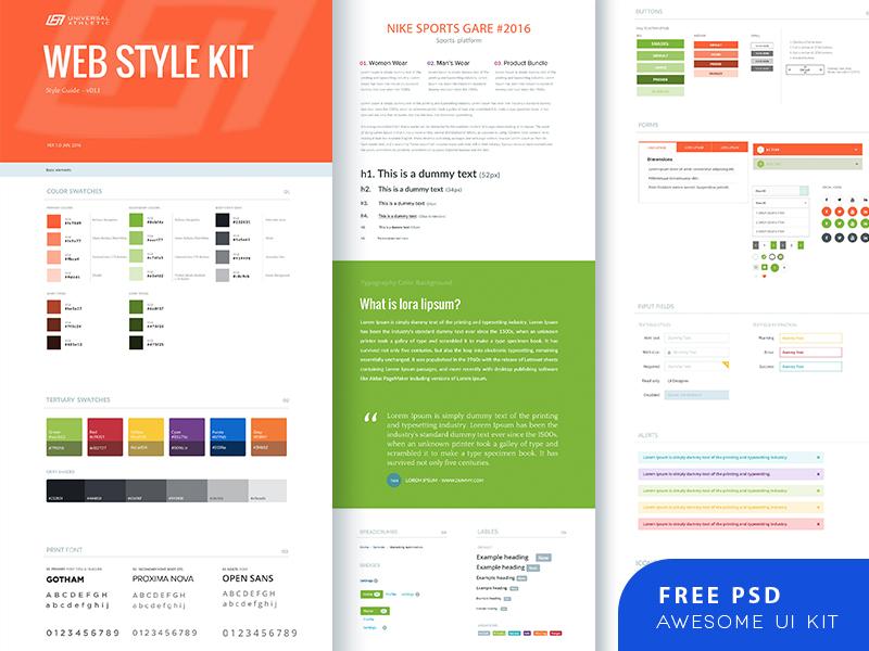Awesome UI Kit